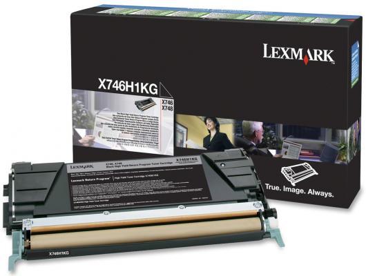 Картридж Lexmark C746H1KG для C746/C748 черный