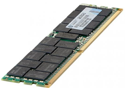 Оперативная память 4Gb (1x4Gb) PC3-12800 1600MHz DDR3 DIMM ECC Buffered CL11 HP 713981-B21 оперативная память 8gb 1x8gb pc3 14900 1866mhz ddr3 dimm ecc buffered cl13 hp 731761 b21