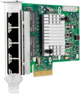 Серверный сетевой адаптер HP NC365T 4хRJ-45 10/100/1000 Мбит/с 593722-B21 от 123.ru