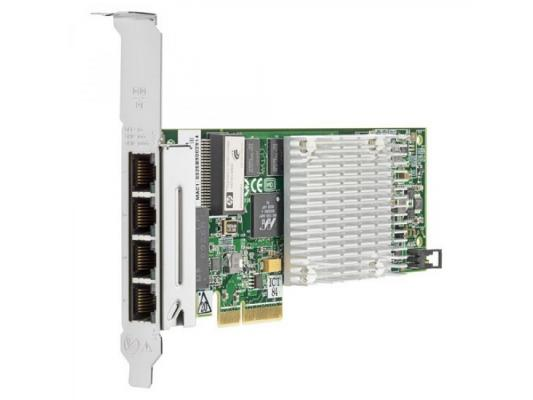 Плата коммуникационная HP NC375T PCI Express Quad Port Gigabit Server Adapter 538696-B21