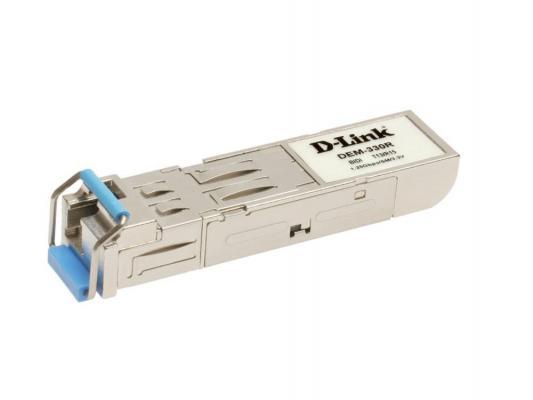 Трансивер сетевой D-Link DEM-330R/10/C1A/B2A 1-port mini-GBIC 1000Base-LX SMF WDM SFP 10шт oem sfp 1000base lx 1 25 smf 1310 20 2 oem sfp lx sm