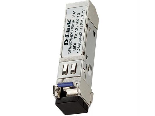 Трансивер сетевой D-Link DEM-302S-BXU/10A1A 1-port mini-GBIC 1000Base-BX SMF WDM сетевой накопитель d link dns 346 e