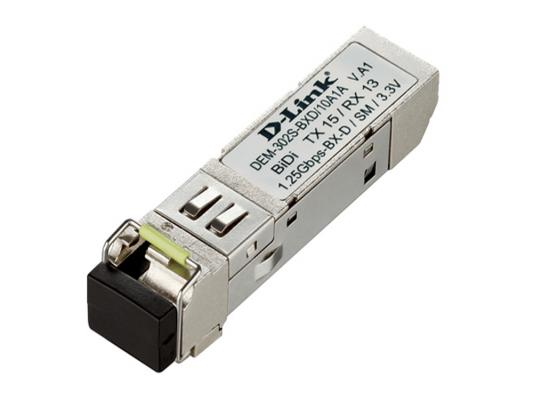 Трансивер сетевой D-Link DEM-302S-BXD 1-port mini-GBIC 1000Base-BX SMF WDM