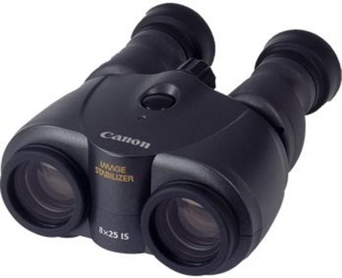 Бинокль Canon 8x25 IS черный