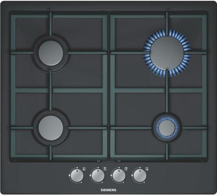 Купить Варочные панели   Газовая варочная панель Siemens EC616PB90R независимая электроподжиг газ-контроль эмаль черный