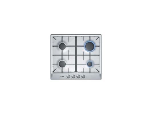 Варочная панель газовая Bosch PCP615B80R серебристый