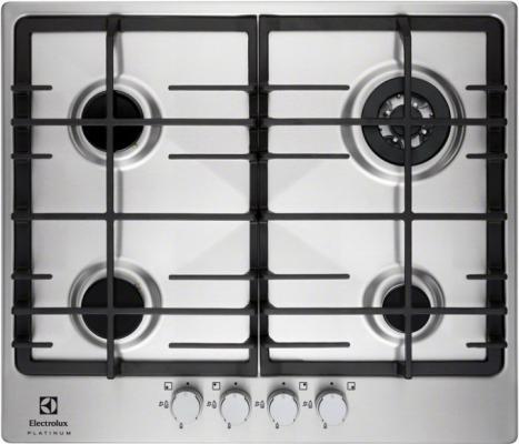 Варочная панель газовая Electrolux EGG 96343 NX серебристый
