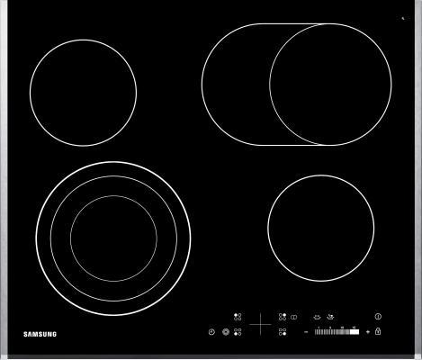 Варочная панель электрическая Samsung CTR264KC01 черный