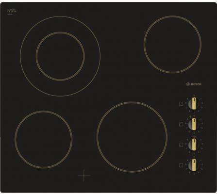 Варочная панель электрическая Bosch PKF619C17E черный