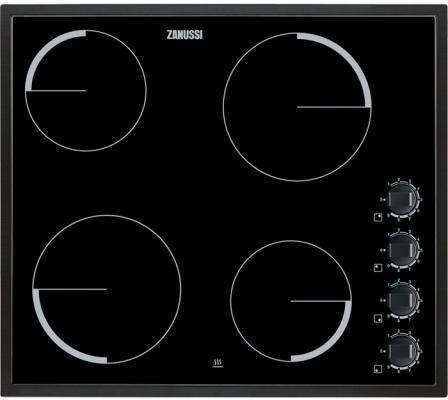 Варочная панель электрическая Zanussi ZEV 6140 NBA черный