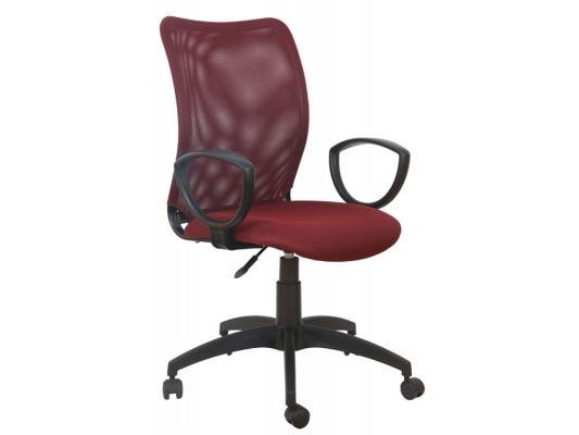 Кресло Buro CH-599/DC/TW-13N спинка сетка темно-красный TW-06N сиденье темно-красный TW-13N серый парик парик вайс шнее uni