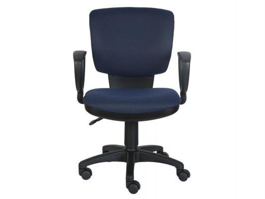 Кресло Buro CH-626AXSN/V-03-1 ромбик черно-синий