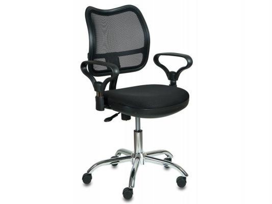 Кресло Buro CH-799SL/TW-11 cпинка черный сетка сиденье черный TW-11 крестовина хром кресло для офиса бюрократ ch 799sl dg tw 12 спинка сетка темно серый сиденье серый tw 12 крестовина хром