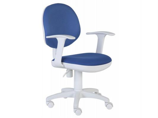 Кресло Buro CH-W356AXSN/15-10 темно-синий пластик белый кресло для офиса бюрократ ch w356axsn 15 75 оранжевый 15 75 колеса белый оранжевый пластик белый