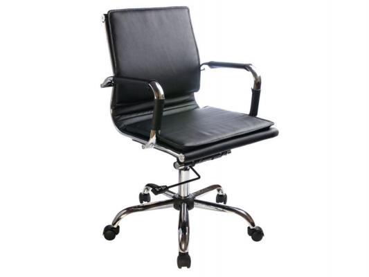 Кресло Buro CH-993-Low/Black низкая спинка искусственная кожа черный цена