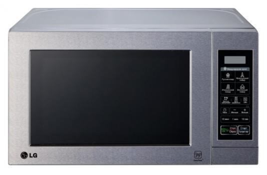 купить СВЧ LG MH6044V 800 Вт серебристый недорого