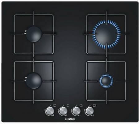Варочная панель газовая Bosch PPP616B81E черный