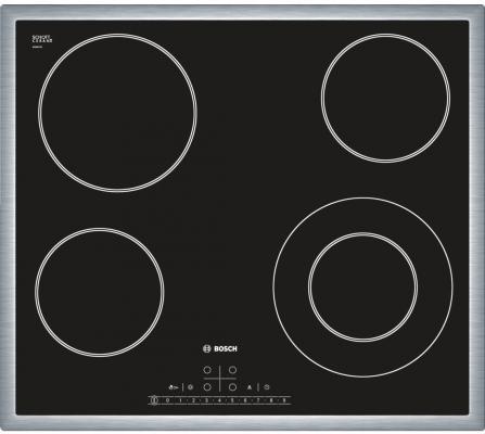 Варочная панель электрическая Bosch PKF645F17 черный