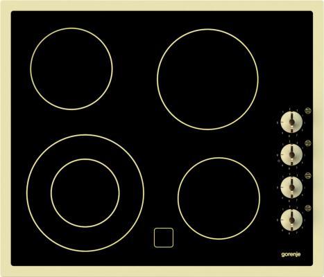 Варочная панель электрическая Gorenje EC630RW черный