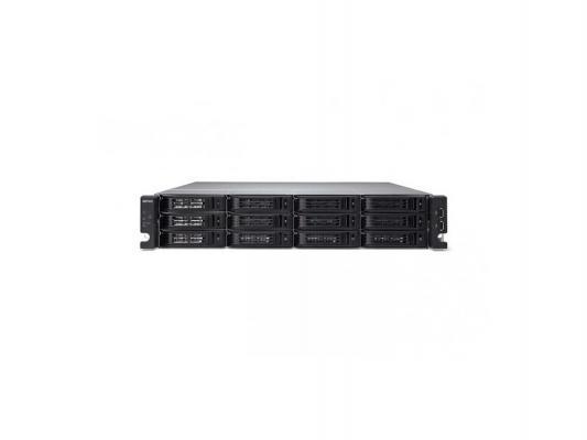 """Сетевое хранилище Buffalo TeraStation 7120r RackMount 2U 12x3.5"""" 8Tb SATA черный TS-2RZS08T04D-EU"""