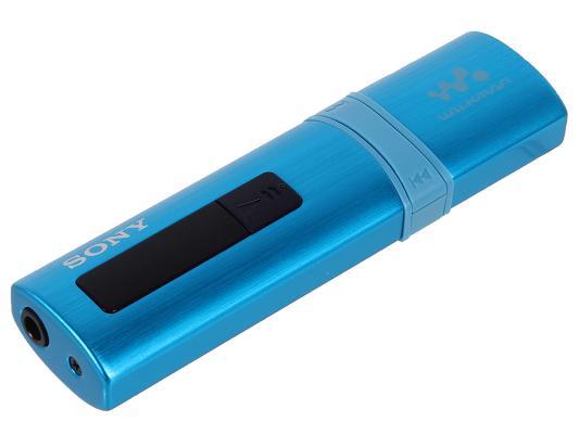Плеер Sony NWZ-B183F 4Гб радио голубой цена