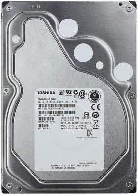 Жесткий диск 3.5 SAS 1Tb 7200rpm 64Mb Toshiba MG03SCA100 цена