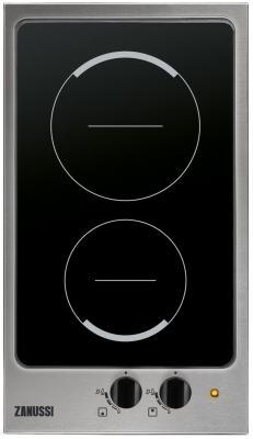 Варочная панель электрическая Zanussi ZES 3921 IBA серебристый