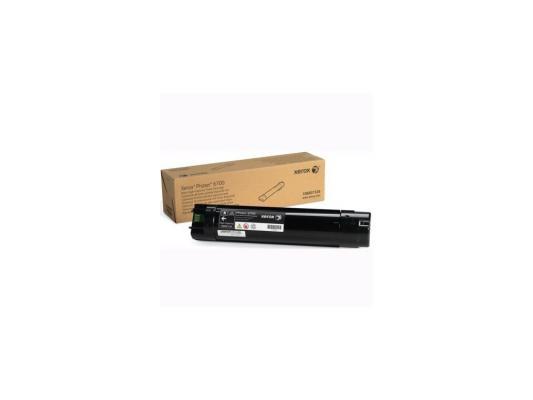 Тонер-Картридж Xerox 106R01526 для Phaser 6700 черный 18000стр тонер картридж xerox 106r01511 для phaser 6700 голубой