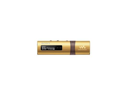 Плеер Sony NWZ-B183FN 4Гб золотистый