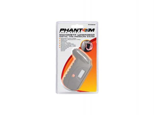 Манометр Phantom PH5602 цифровой 880100 манометр автомобильный azard magnum 5 в 1