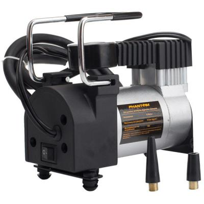 Автомобильный компрессор Phantom РН2023 120Вт 10А 35л/мин автомобильный компрессор zipower pm 6506 35л мин