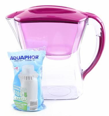 Фильтр для воды Аквафор ПРЕМИУМ кувшин цикламен -Р81В05N