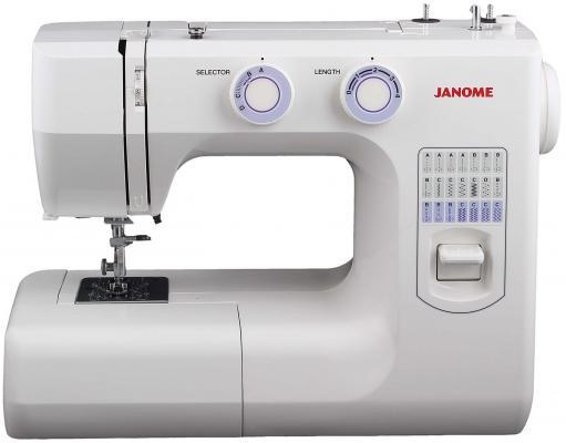 Швейная машина Janome 943-05S белый janome 2055 белый зеленый