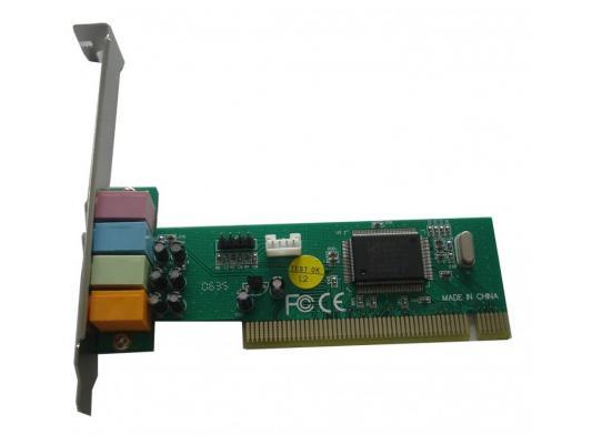Звуковая карта PCI C-media 8738 4channel CMI8738-SX OEM неисправное оборудование c media c media cm108 trua71