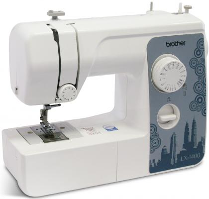 Швейная машина Brother LX-1400 белый швейная машина brother lx 3500 белый