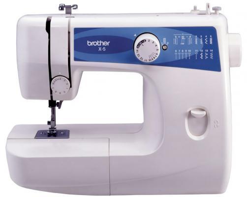 Швейная машина Brother X-5 белый-синий