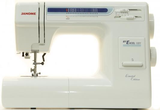 Швейная машина Janome My Excel 1221 бело-синий janome janome my excel 1221