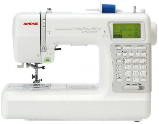 Швейная машина Janome Memory Craft 5200 белый janome memory craft 5200