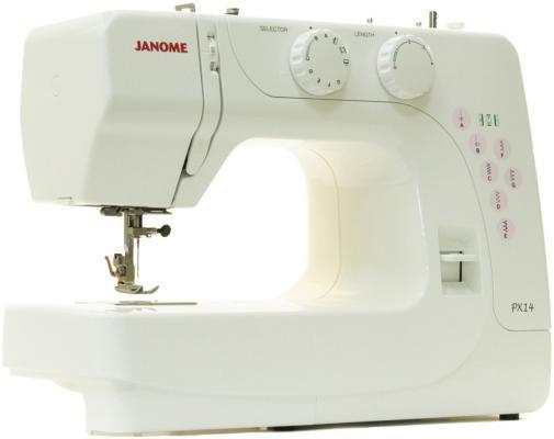 Швейная машина Janome PX-14 белый швейная машина janome px 21 белый