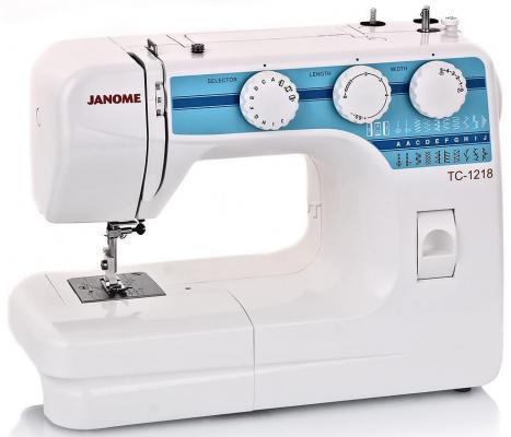 Швейная машина Janome TC 1218 белый