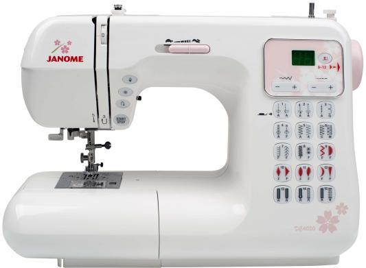 Швейная машина Janome DC4030 белый швейная машина vlk napoli 2400