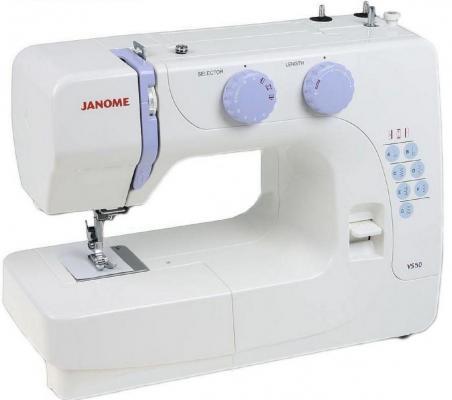 Швейная машина Janome VS50 белый швейная машинка janome sew mini deluxe