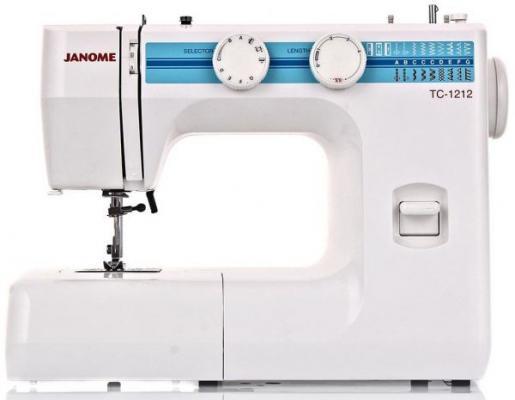 Швейная машина Janome TC 1212 белый швейная машинка janome sew mini deluxe