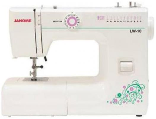 Швейная машина Janome LW-10 белый janome ps 11 lw 10