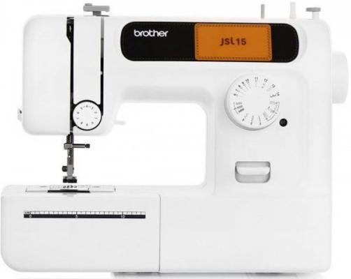 Швейная машина Brother JSL-15 белый