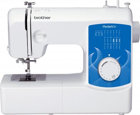 Швейная машина Brother ModerN 21 бело-синий