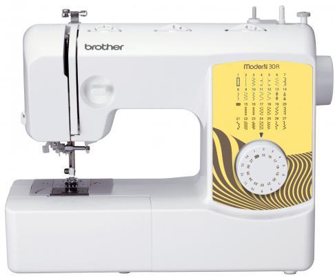 Швейная машина Brother ModerN 30A бело-желтый швейная машина brother modern 21 бело синий