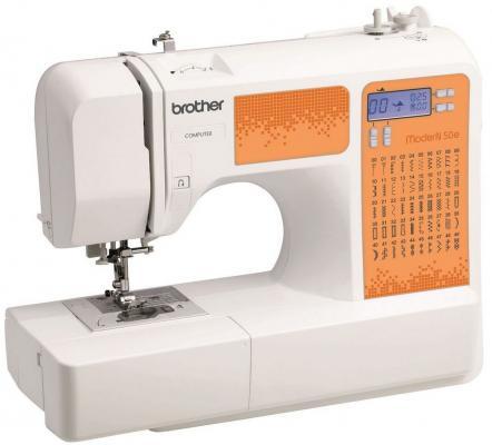 Швейная машина Brother ModerN 50E бело-оранжевый цена 2017