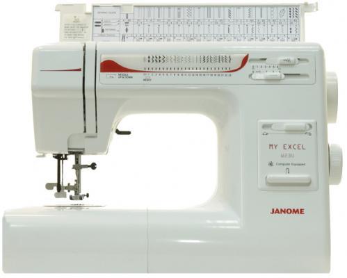 Швейная машина Janome W23U My Excel белый цена