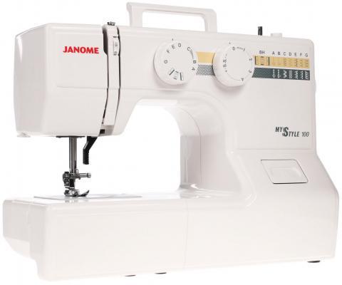 Швейная машина Janome 100 My Style белый